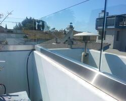 Deck Railing Sneeze Guard, Sound Fence, Stair Case